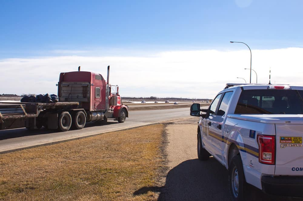 Most trucks will be required to have electronic logging devices installed by December. The devices automatically record driver's hours of service.