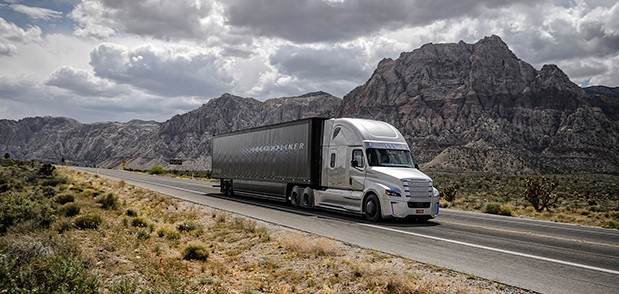 Despite predictions of massive job losses, autonomous trucks will likely still require a driver to be in the cab.
