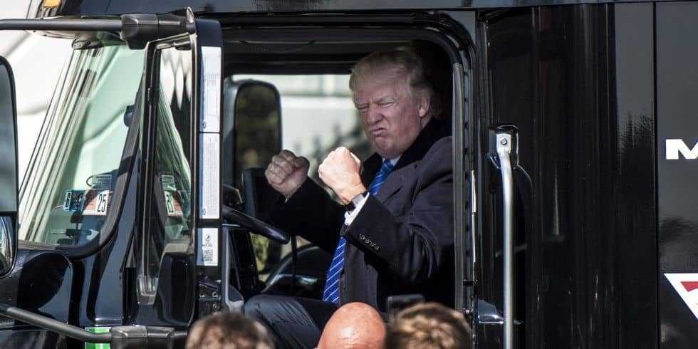 Photo of Today's Pickup: The President and his truck