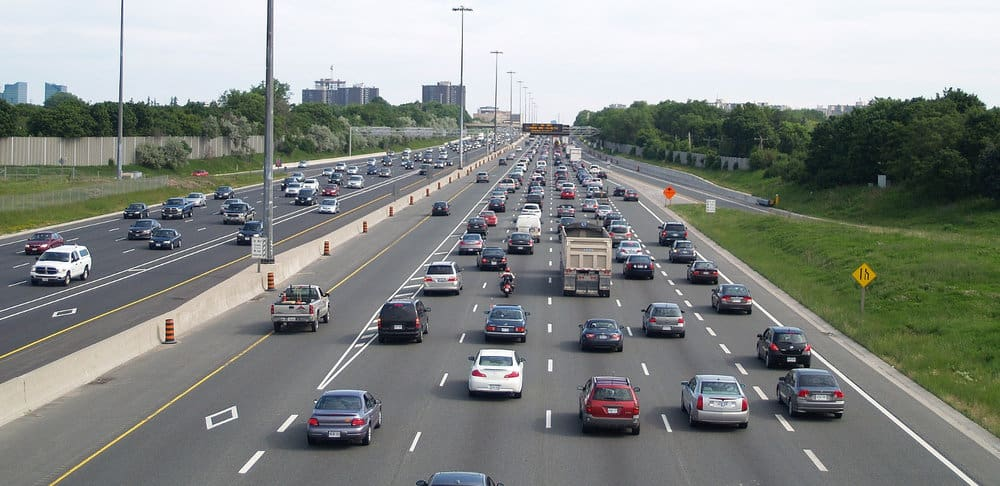 As crazy as it sounds, traffic congestion like this are possible on Aug. 21 as spectators travel to locations where a total solar eclipse will be visible.