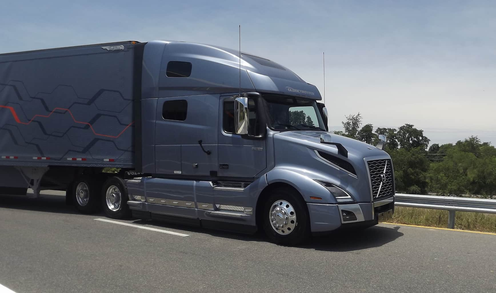 Volvo's new VNL series designed for driver comfort, safety, and a