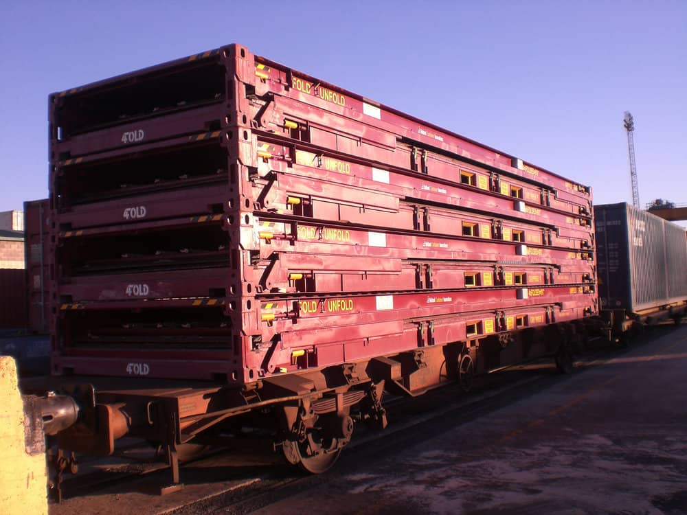 Dutch company hopes foldable containers end intermodal