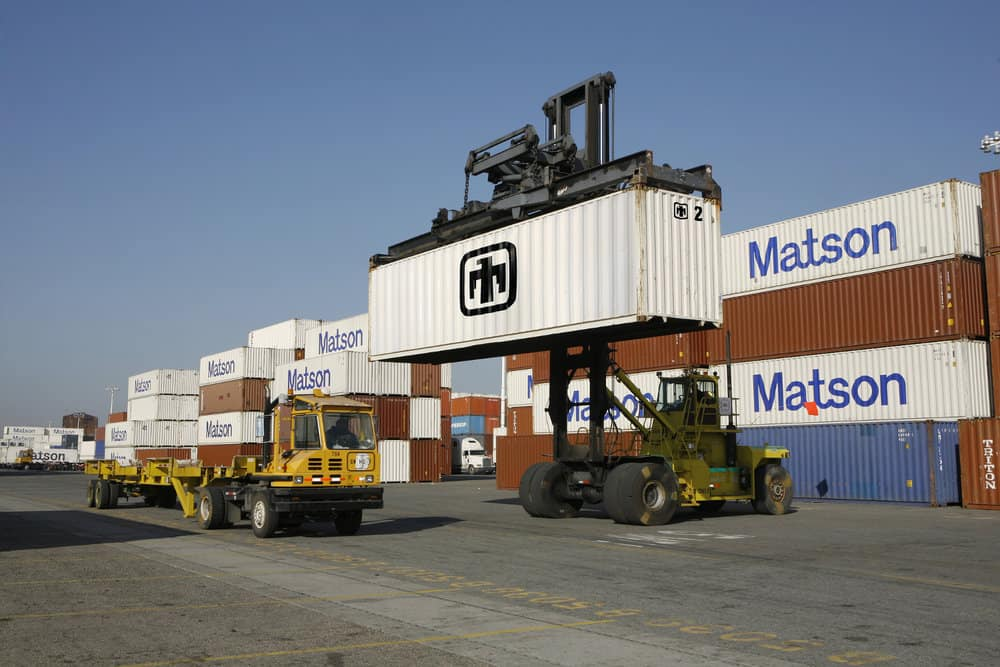 Keeping track of containers as they move throughout ports and on to their final destination is a time-consuming and costly task.