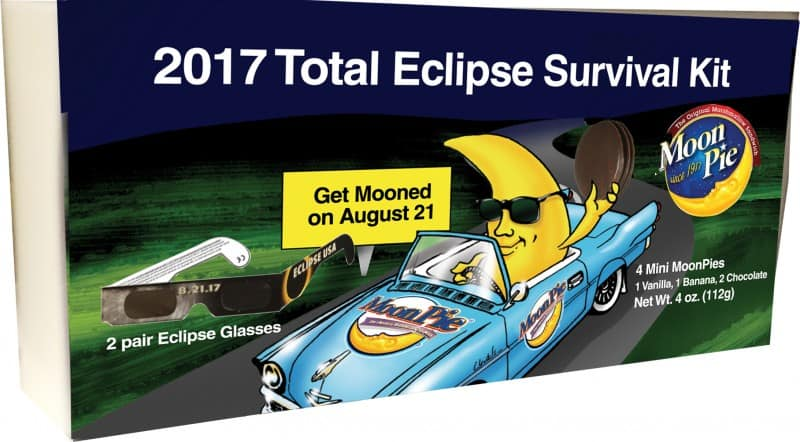 Moonpie reported record sales and took advantage of a branding opportunity by selling total eclipse survival kits on amazon.