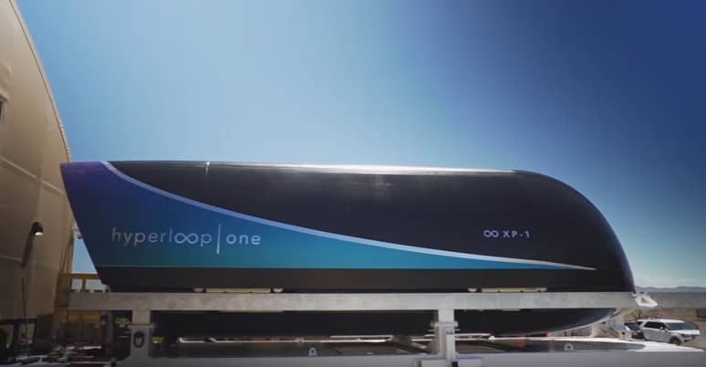 Virgin Hyperloop One set a new speed record for its pod at 240 mph.