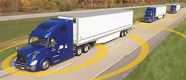 Photo of Today's Pickup: Government conducts platooning test