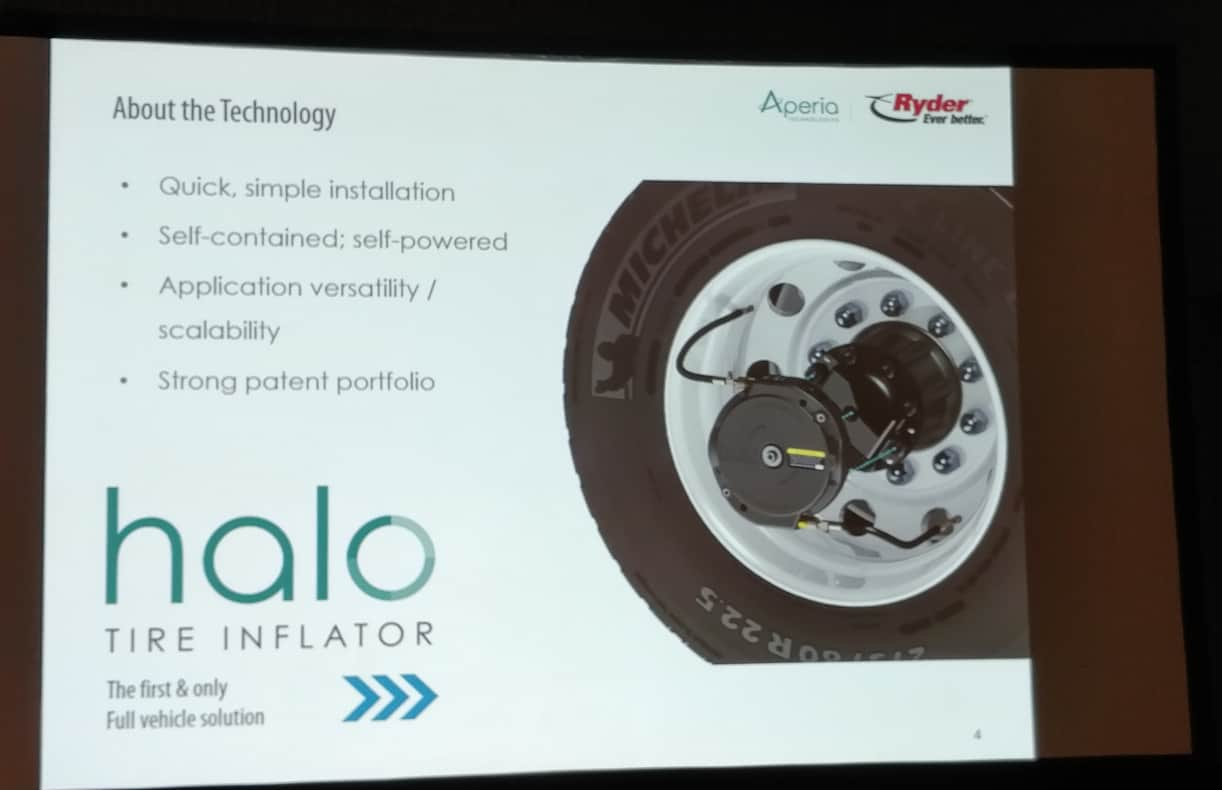 Photo of Ryder to install Aperia's Halo tire inflation system