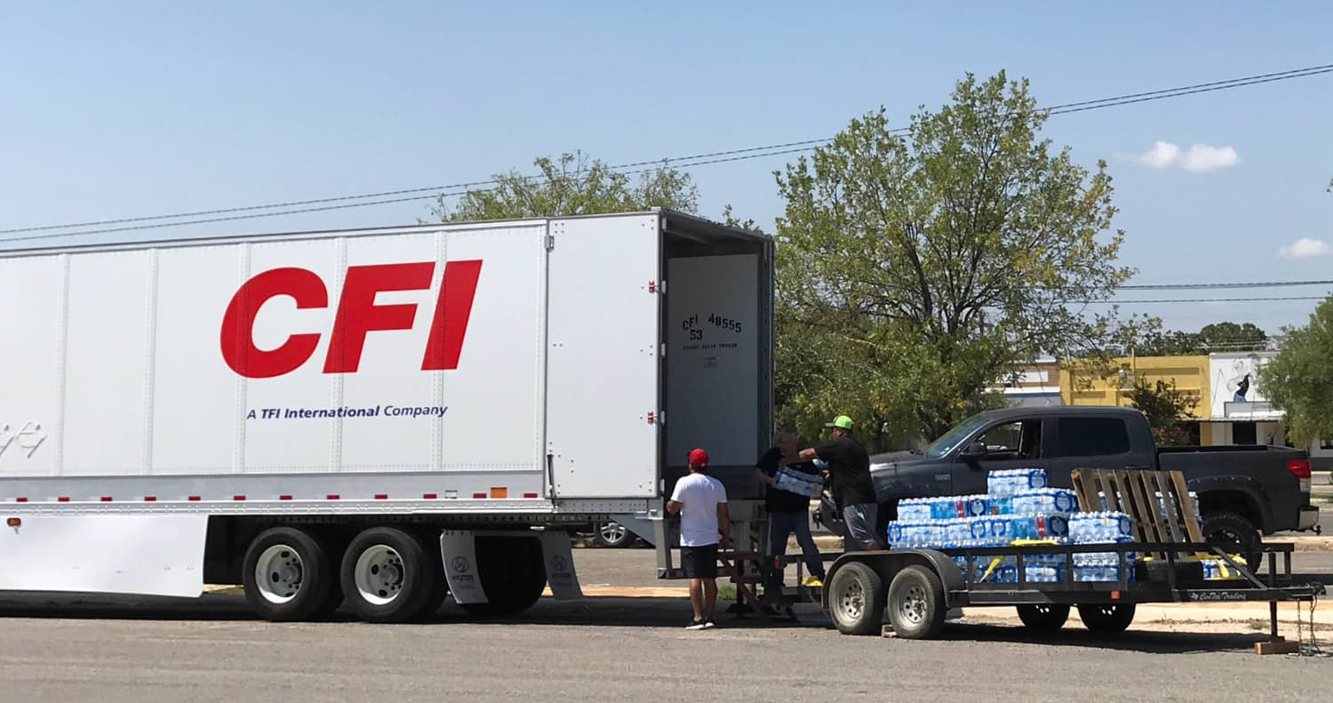 Photo of CFI, others step up to help with Harvey recovery