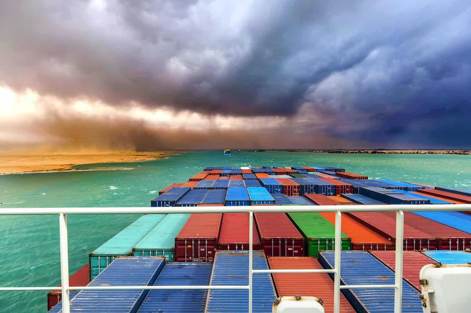 Photo of Through the eyes of a shipmate on a global container journey