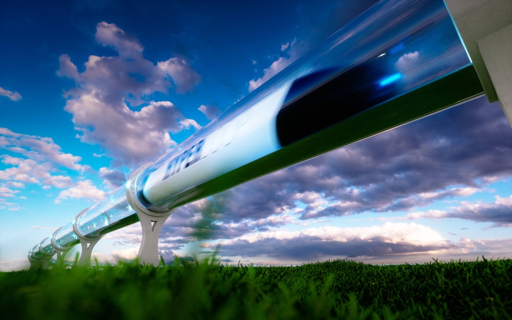 Hyperloop technology will likely be used to move freight first, according to those working on developing the technology. ( Photo: Shutterstock )