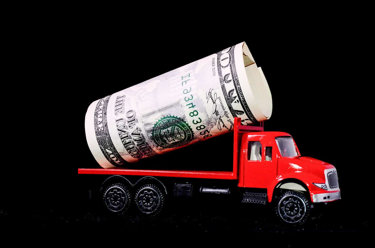 Photo of It's not the government's money, it's the trucker's money