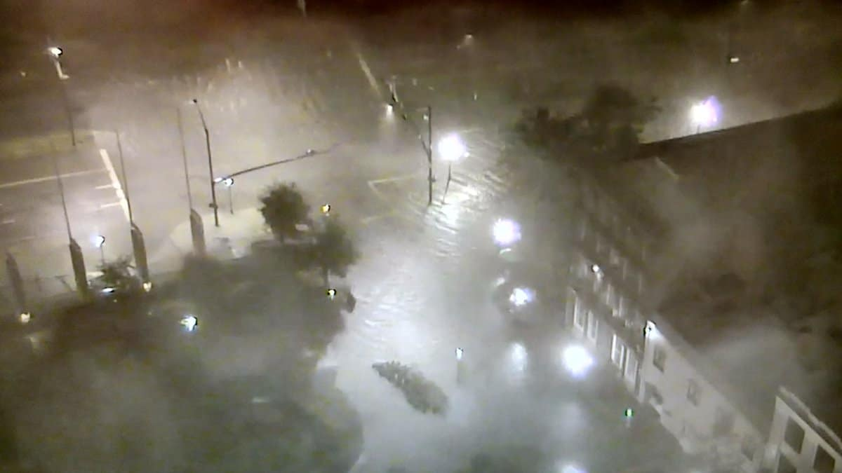 Photo of Biloxi, Mobile face flooding, but Hurricane Nate spares region