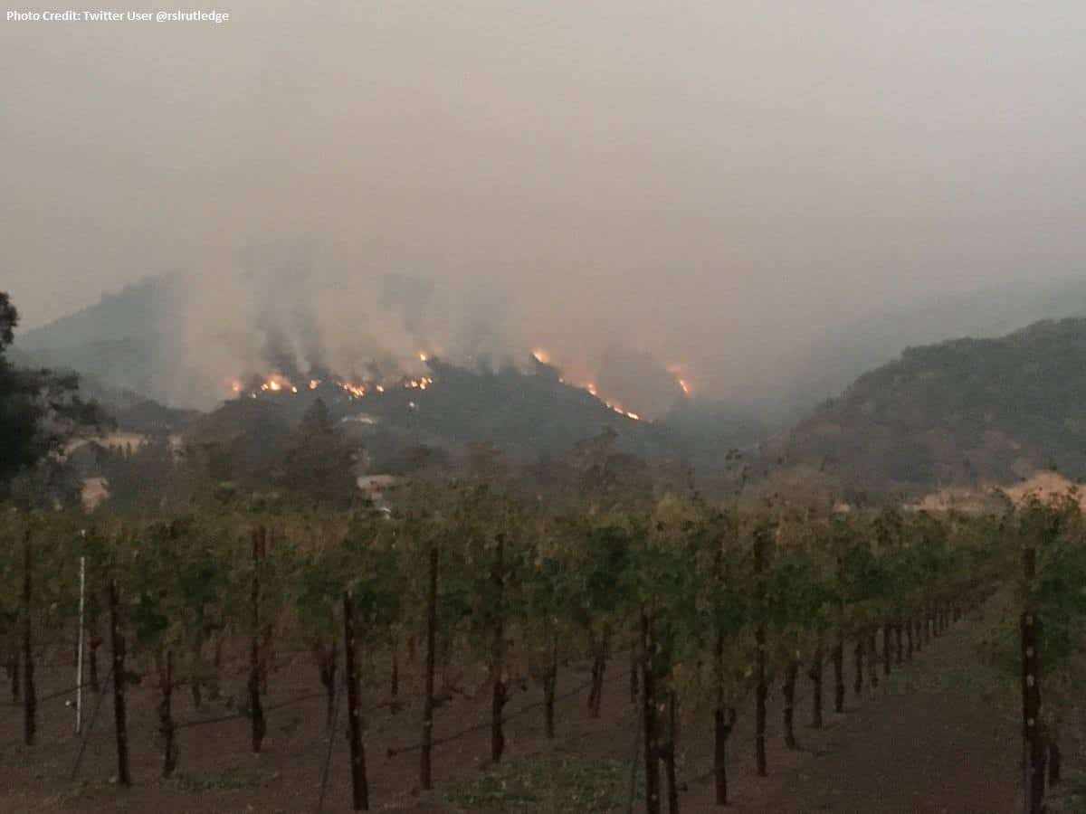 Photo of Wine country wildfires impacting shippers, future wine shipments