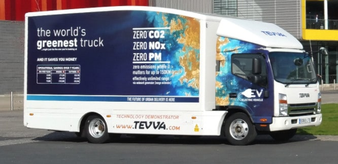 """Photo of European startup debuts the """"greenest truck"""""""