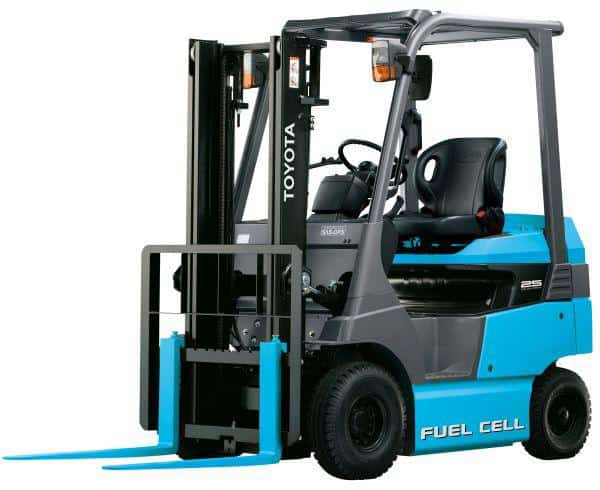 Photo of Toyota's fuel-cell forklifts give way to truck project