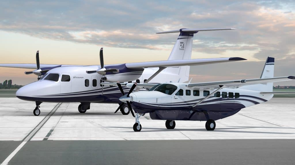Fedex Upgrades Feeder Fleet With New Cessna Skycouriers Freightwaves