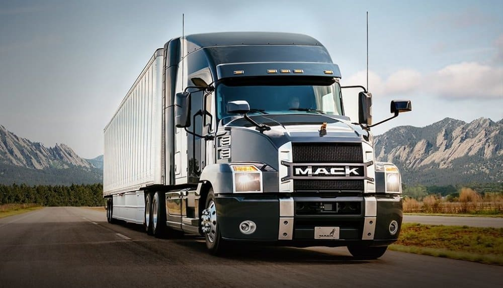 2018 Mack Anthem- a whole new redesign from Mack Trucks