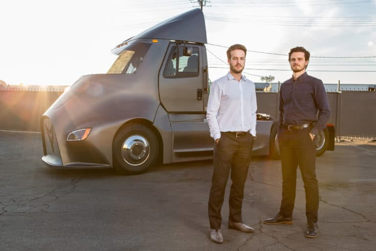 CEO Dakota Semler and COO Giordano Sordoni ( photo credit: Thor )