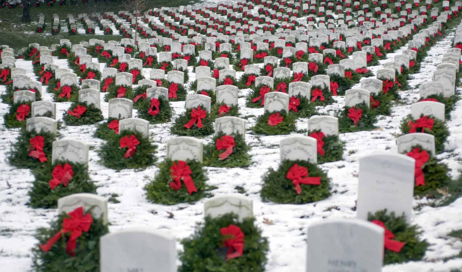 Photo of Trucking delivers for Wreaths Across America