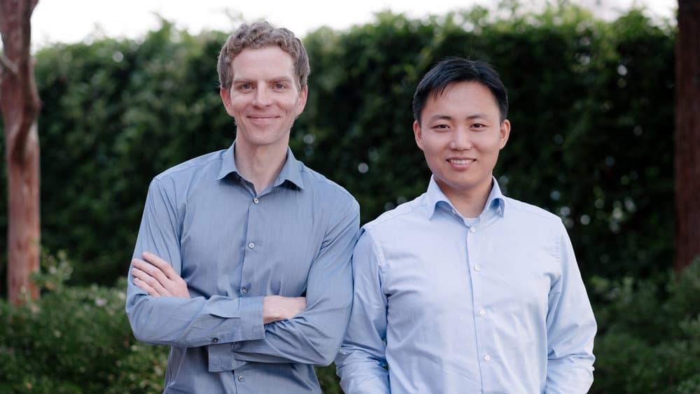 Meet the Nuro co-founders, Dave Ferguson and Jiajun Zhu. (Photo: Nuro)