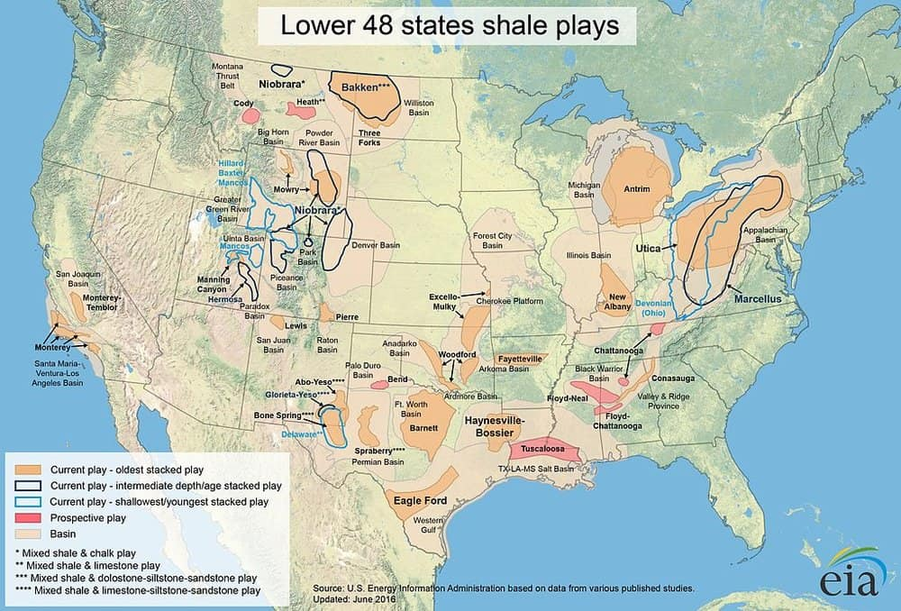 The US has an abundance of natural gas reserves, but cleaner or not, it's still a non-renewable energy. (Photo/Wikipedia)