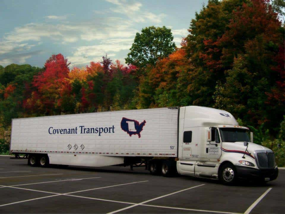 Photo of Tweeners and teams: Covenant Transport stock jumps 5% on optimistic guidance