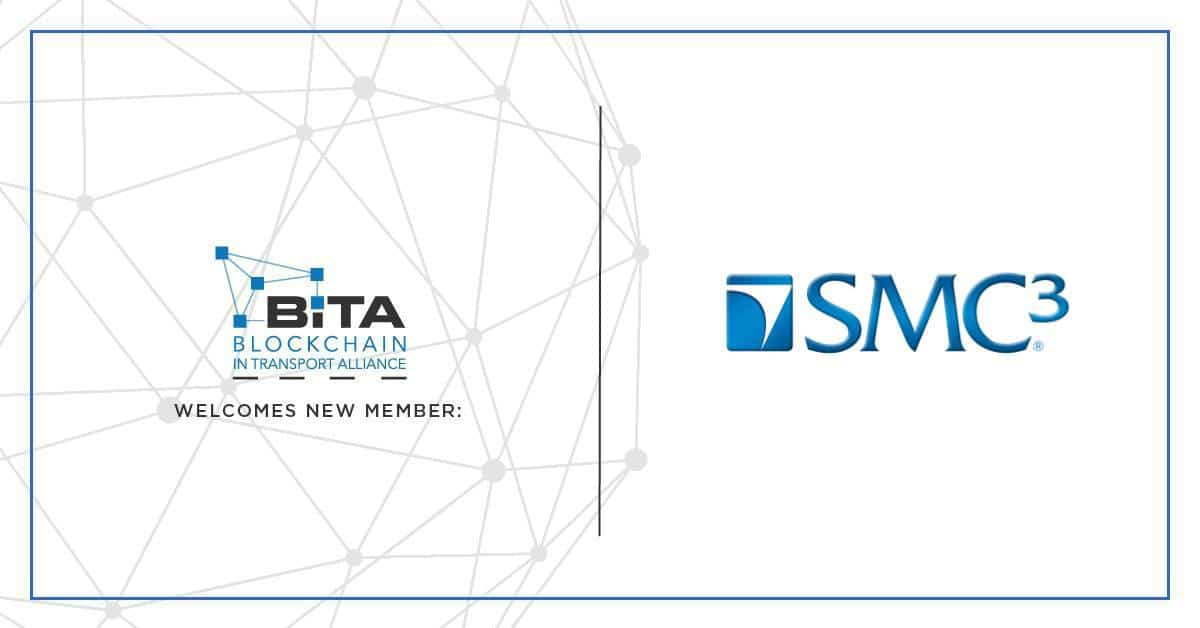 Photo of SMC³ joins the Blockchain in Transport Alliance