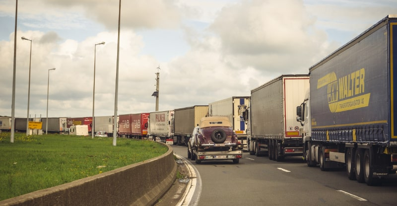 Photo of 30-mile waits possible for trucks entering port in Calais after Brexit