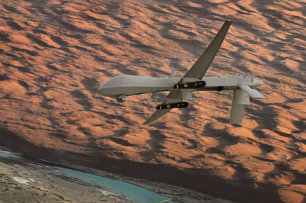 An MQ-1 Predator drone. ( Photo: United States Air Force )