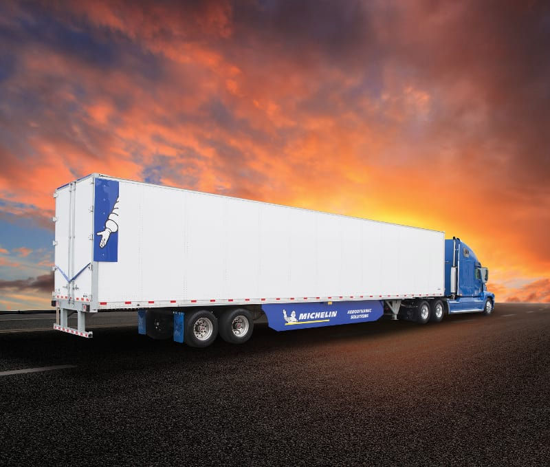 Photo of Michelin branches out with new aerodynamic trailer efficiency solution