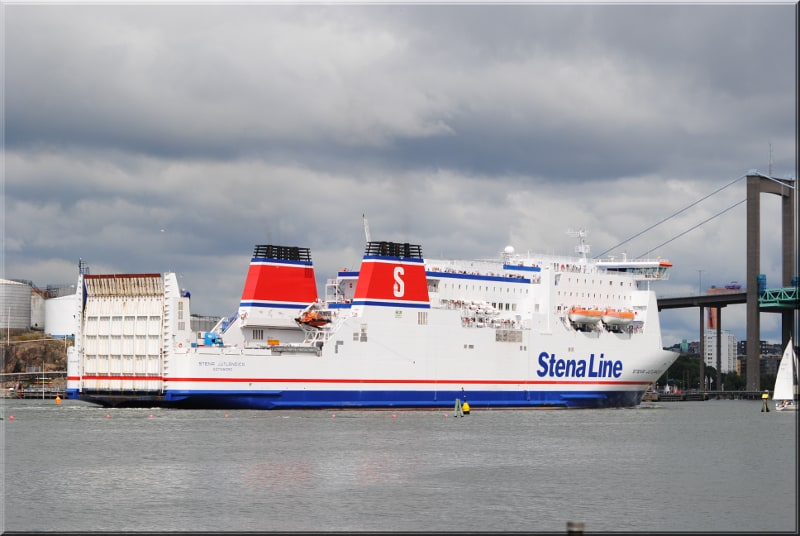 Photo of Ferry and logistics provider Stena Line to run electric ship