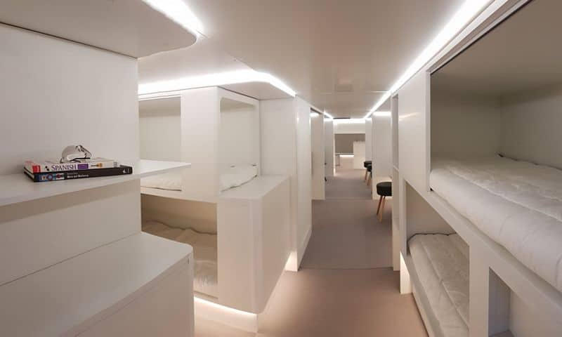 Photo of Airbus to offer lower-deck passenger sleeper berths amidst cargo holds