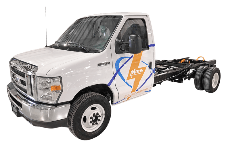 Photo of Motiv offers intelligent electric chassis as replacement for gasoline chassis trucks