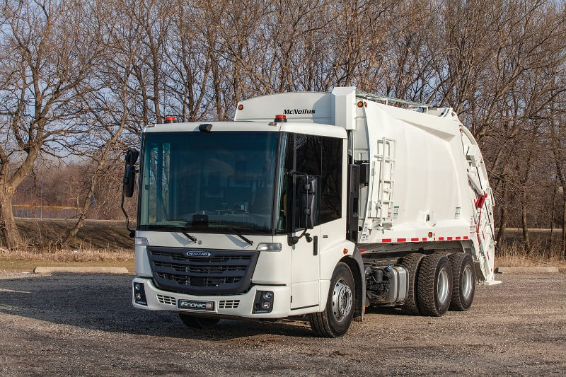 Photo of Mack announces electric refuse truck; Freightliner introduces new model