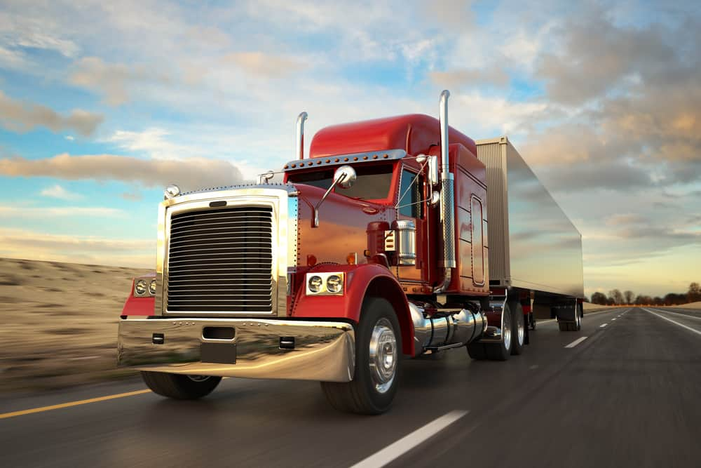 Along the side of a tractor-trailer is a blind spot for drivers, but it is also an area where incidents can happen. Adding side cameras can help record those incidents. ( Photo: Shutterstock )