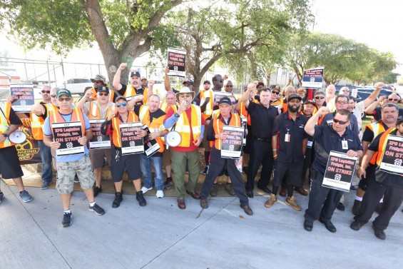 Photo of It might have been a one-day protest at XPO Miami, but was a lot longer in the making