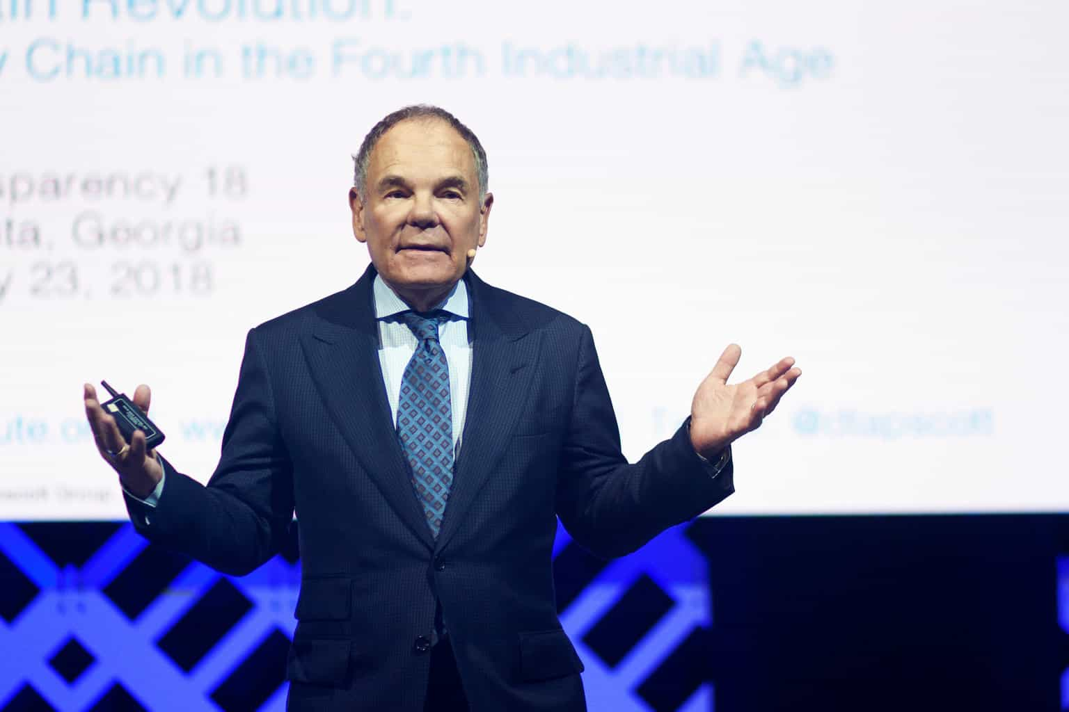 Photo of Don Tapscott: smart contracts will change the nature of firms