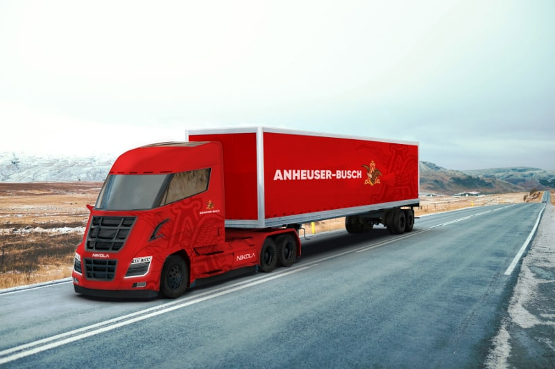 Photo of Anheuser-Busch to buy up to 800 Nikola hydrogen-electric trucks