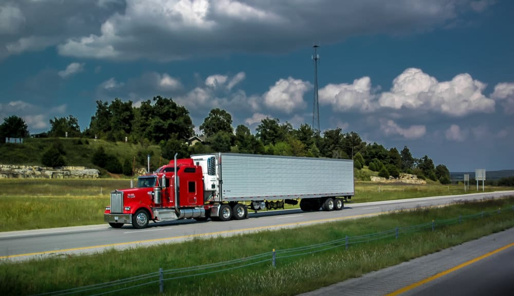 A refrigerated truck. ( Photo: Truckstockimages.com )