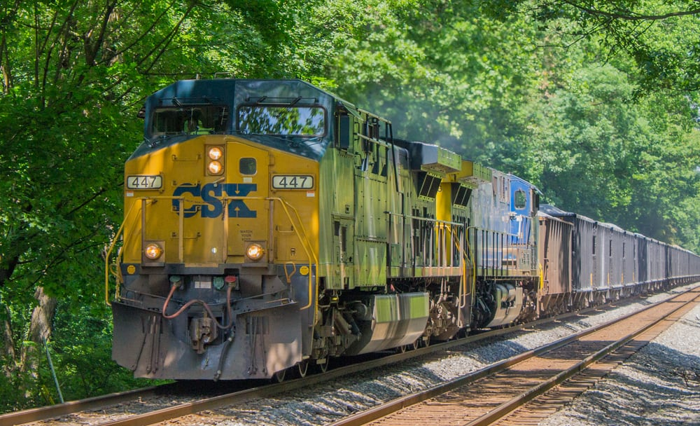 CSX announces record 58 6% OR, says turnaround not finished
