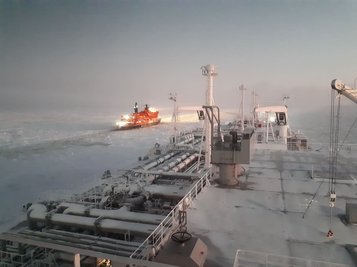 Photo of LNG carriers crack open the Northern Sea Route