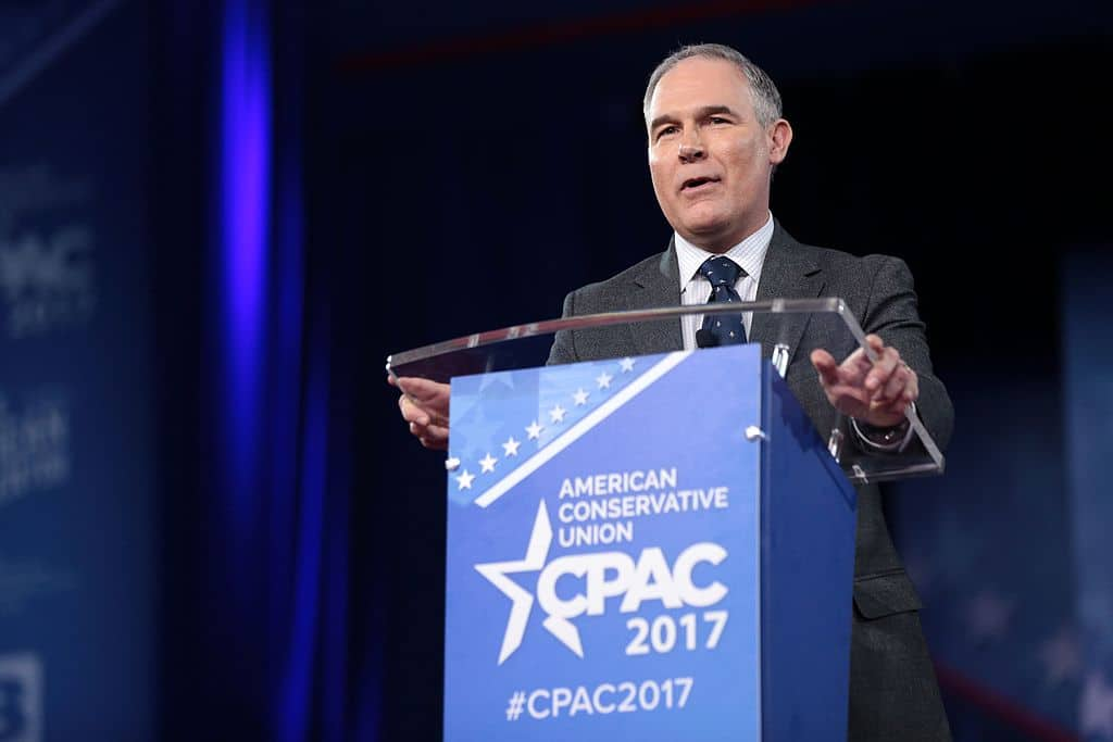 Photo of Scott Pruitt resigns as head of the Environmental Protection Agency