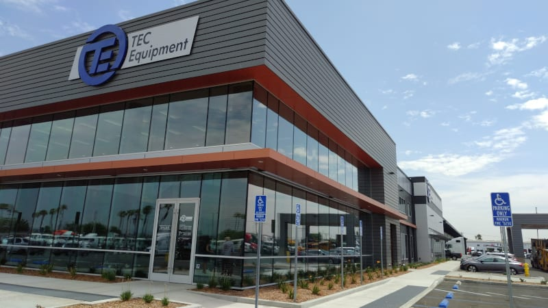 Photo of TEC Equipment's new California dealership showcases efficiency, customer-first approach