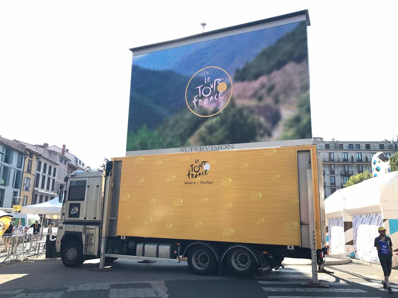 Photo of The logistical miracle that is the Tour de France, run by XPO Logistics