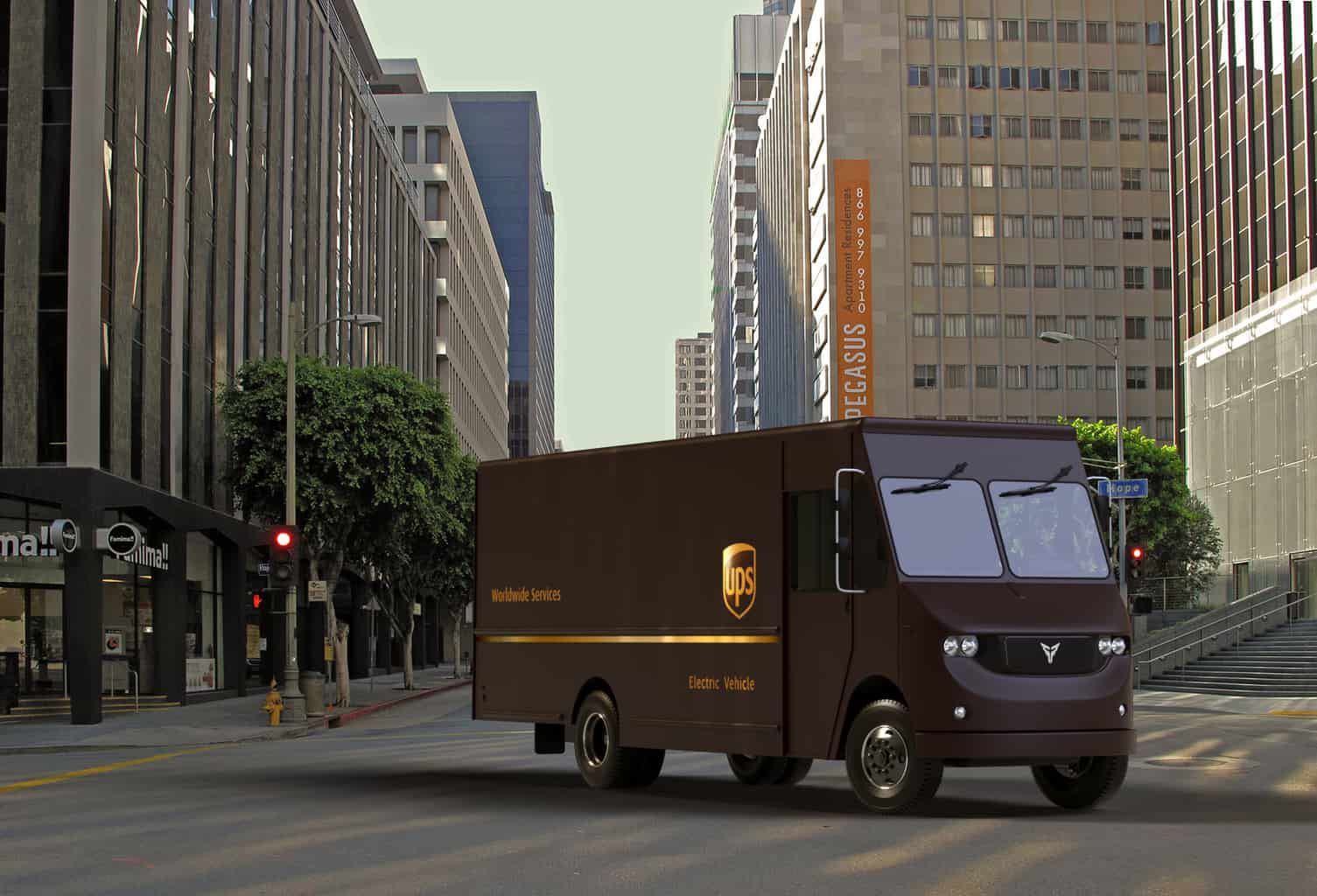 Photo of UPS and Thor collaborate to test electric delivery trucks