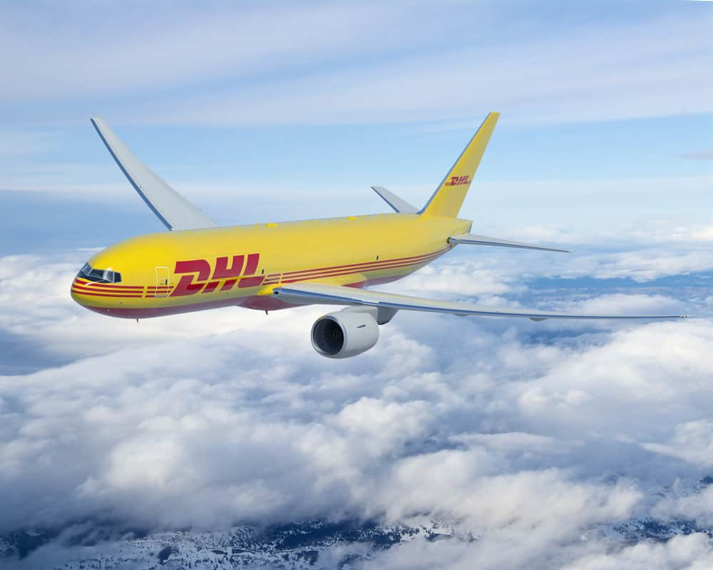dhl boeing 777. photo courtesy of dhl.