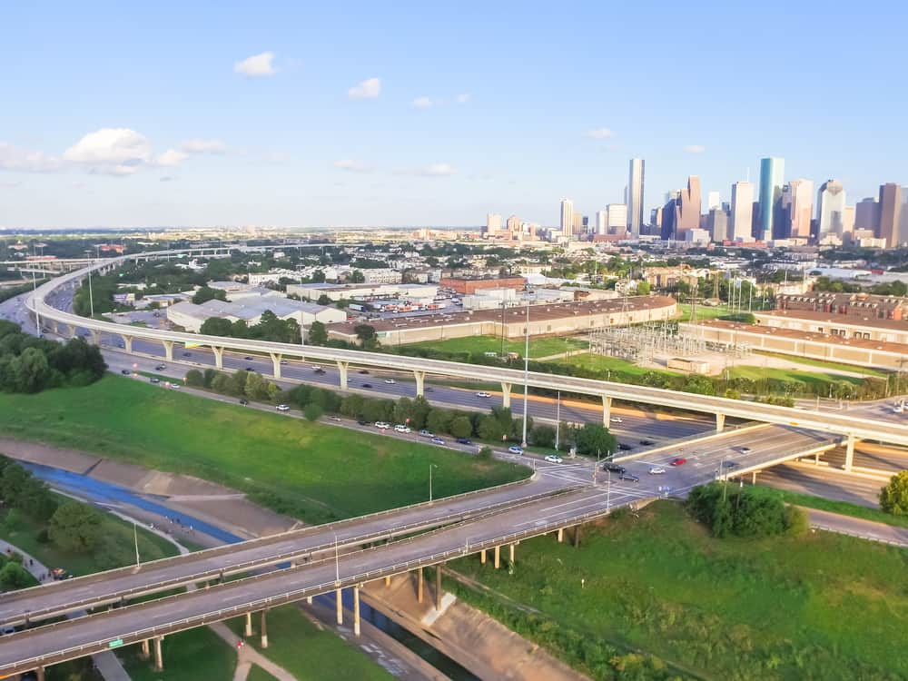 The Katy Freeway (I-10 outside Dallas). ( Photo: Shutterstock )