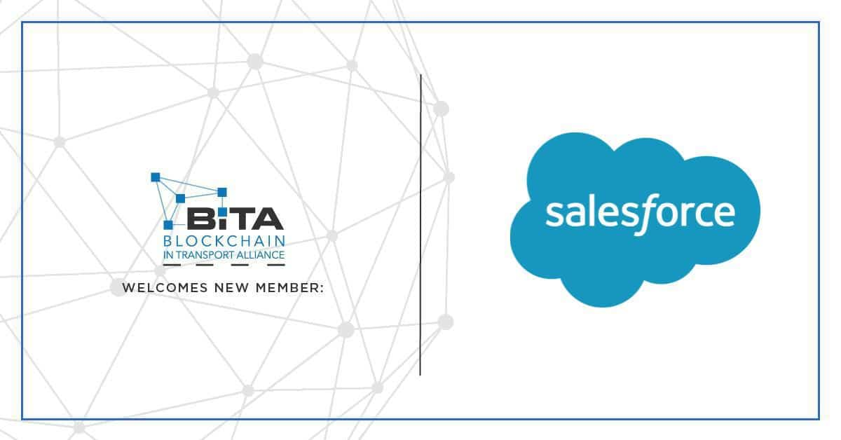Photo of Salesforce joins the Blockchain in Transport Alliance