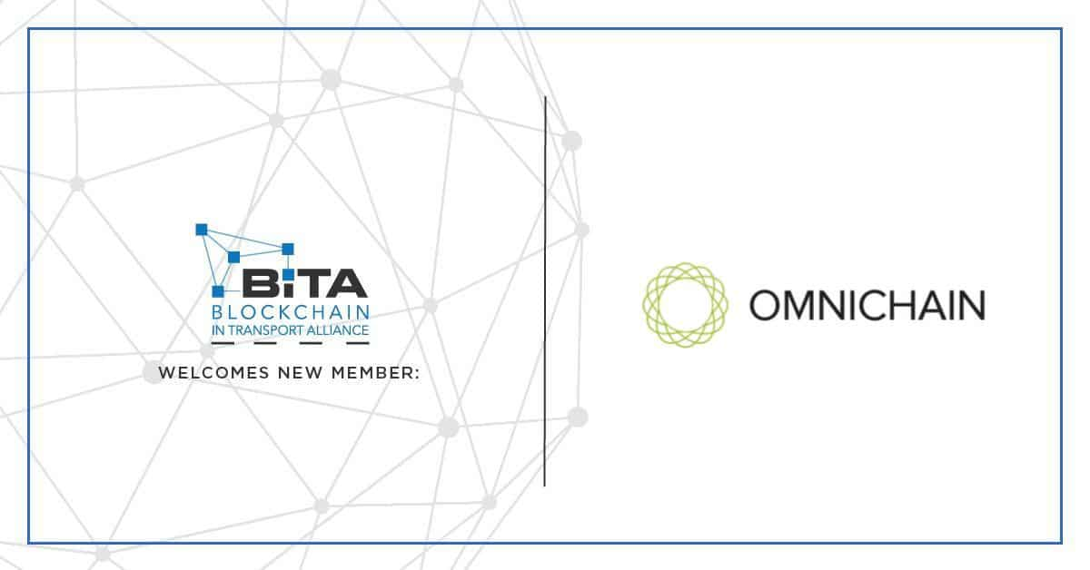 Photo of Omnichain Solutions joins fellow supply chain leaders in the Blockchain in Transport Alliance
