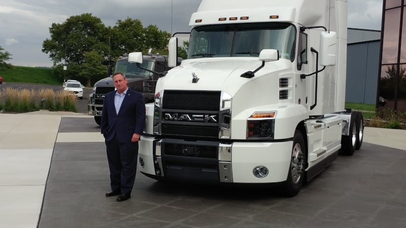 Photo of Mack Trucks has global brand power, and more from new President Martin Weissburg
